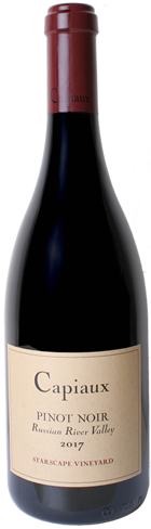 CAPIAUX STARSCAPE VINEYARD PINOT NOIR bottle shot